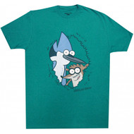 Regular Show Eye Spy Adult T-Shirt