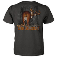 Deer Hunting T-shirt I Like Big Bucks