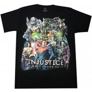 DC Comics Injustice Gods Among Us Adult T-Shirt
