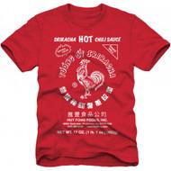 Sriracha Hot Chili Sauce Adult T-Shirt