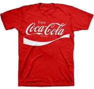 Coca Cola Classic Coke Adult T-Shirt