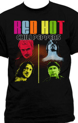 Red Hot Chili Peppers Color Me Peppers Adult T-Shirt