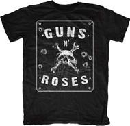 Guns N Roses Street Sign Spencer Adult T-Shirt
