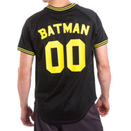 Batman 00 Men's Black Mesh Poly Jersey