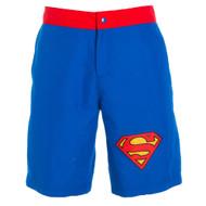 Superman Logo Men's Royal Boardshorts