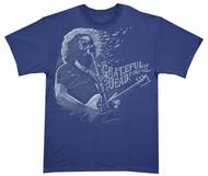 Grateful Dead Jerry Garcia - Blown Away Adult T-Shirt