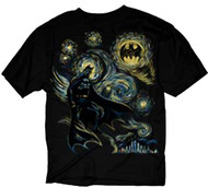 DC Comics Batman Abstract Adult T-shirt