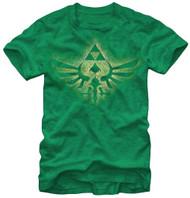 Nintendo Legend of Zelda Soaring Triforce Adult T-Shirt