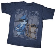 Regular Show Chilled Dudes Youth T-Shirt