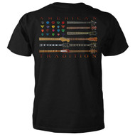 Guitar Flag - American Tradition T-Shirt