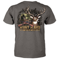 Hunt Hard or Stay Home - Deer Hunting T-Shirt