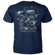 Live To Hunt - Hunt To Live - Deer Hunting T-Shirt