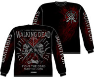 The Walking Dead Academy Long Sleeve Shirt