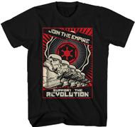 Star Wars Revolution Adult T-Shirt