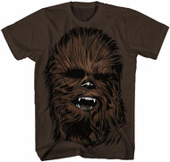 Star Wars Chewy Face Adult T-Shirt