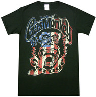 Gas Monkey Garage - Americana Monkey Logo Adult T-Shirt