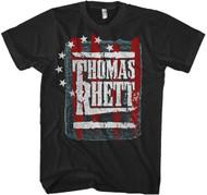 Thomas Rhett Stars And Stripes Adult T-Shirt
