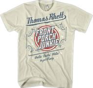 Thomas Rhett Front Porch Junkie Adult T-Shirt