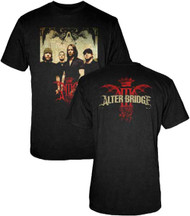 Alter Bridge Band Photo Adult T-Shirt