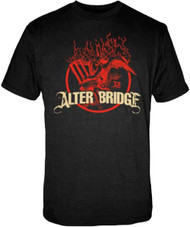 Alter Bridge Flames Adult T-Shirt