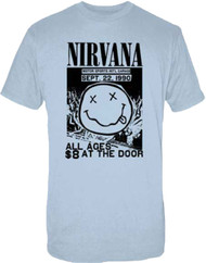 Nirvana - Motor Sports Flyer Adult T-Shirt