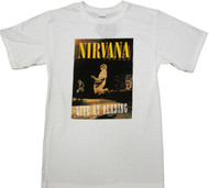 Nirvana Live At Reading Adult T-Shirt
