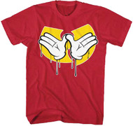 Wu-Tang Clan - Dripping Hands Adult T-Shirt