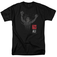 Muhammad Ali 70 Arms Raised Adult T-Shirt