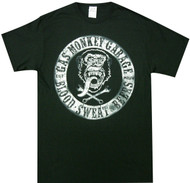 Gas Monkey Garage - Circular Distressed Logo Adult T-Shirt