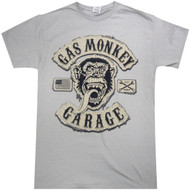 Gas Monkey Garage - Flux Tackle Twill Logo Adult T-Shirt