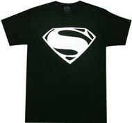 Batman VS Superman - Superman White Logo Adult T-Shirt