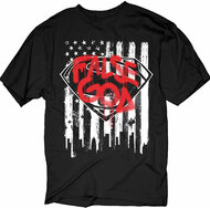Batman VS Superman - False God Flag Graffiti Logo Adult T-Shirt