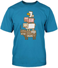 Minecraft Animal Totem Adult T-Shirt
