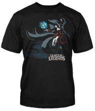 League of Legends Ahri Original Splash Art Image Adult T-Shirt