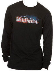 Battlefield 4 Skyline Adult Long Sleeve T-Shirt