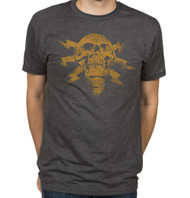 Battlefield 4 Lightning Skull Adult Premium Heather T-Shirt