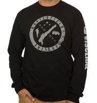 Battlefield Hardline Stamp Adult Long Sleeve T-Shirt