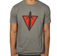 Planetside 2 Terran Republic Logo Adult Premium Heather T-Shirt
