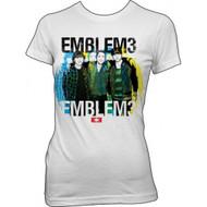 Emblem3 Group Photo Juniors T-shirt