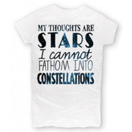 The Fault In Our Stars - Thoughts Are Stars Juniors T-Shirt