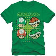 Super Mario Bros Koopa Shell Youth T-shirt