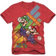 Super Mario Bros Power up Youth T-shirt