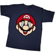 Nintendo Mario Face Youth T-shirt