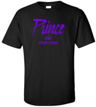 Prince RIP 1958-2016 Adult T-Shirt