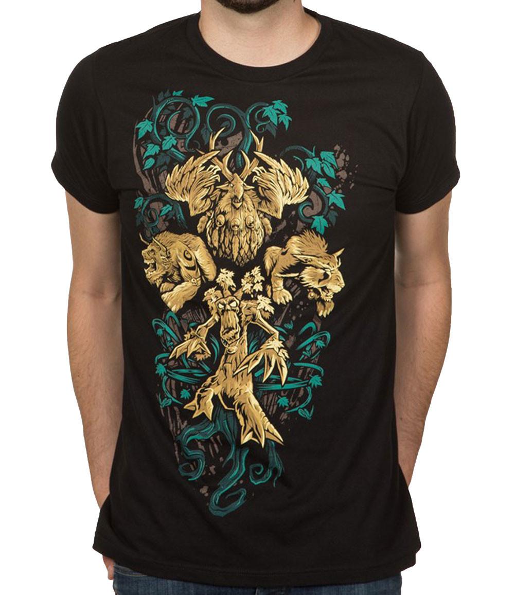 World Of Warcraft Druid Legendary Class Adult T Shirt Superb Selection