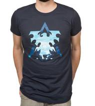 StarCraft II Terran Silhouette Adult T-Shirt