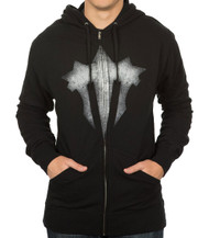 World of Warcraft Iron Horde Logo Zip-Up Adult Jacket Hoodie