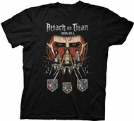 Attack On Titan - Titan In Shadows Adult T-shirt