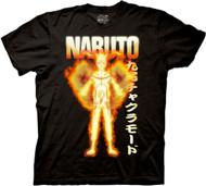 Naruto Shippuden Bijuu Mode Black T-Shirt