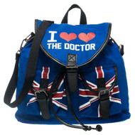 Doctor Who I Heart the Dr. Doctor Knapsack Backpack Bag
